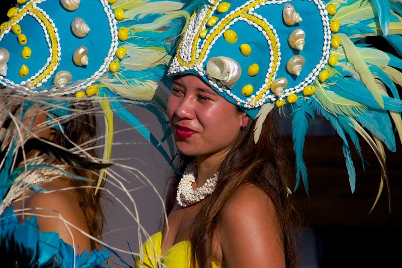 Polynesian Dancer,  MS Paul Gauguin