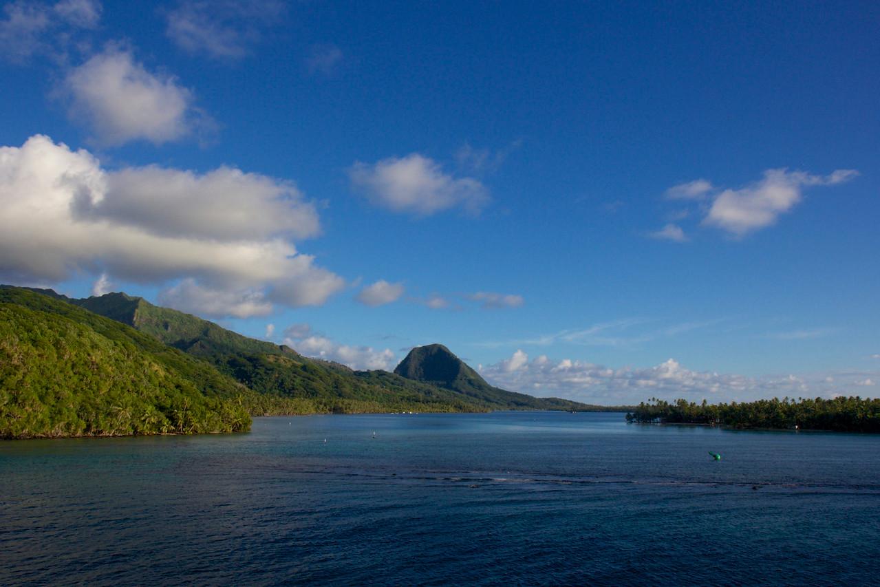 Huahine, Society Islands Huahine