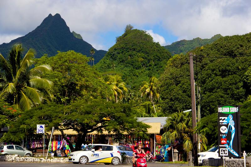 """"""" Downtown"""" Rarotonga"""