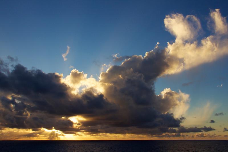 Sunset, Huahine