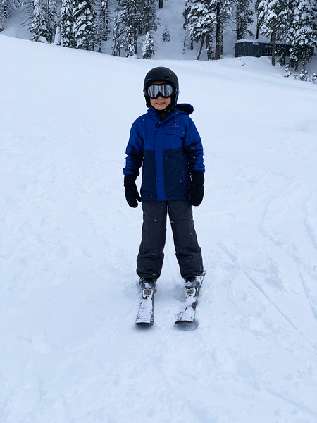 Micah hits the slopes!