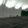 Indoor dome tennis court.  Next time we will try it out. Did not bring tennis shoes