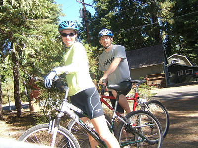 My first real mountain biking experience. Loved it!