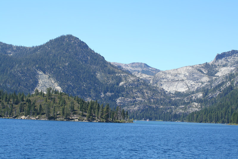 Entering Emerald Bay on West shore