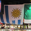 At one of the downtown bars for World Cup --- looks like Sun Valley has their own flag!