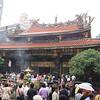 Prayer service at Longshan Temple, Taipei