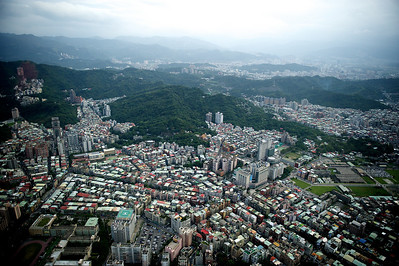 View from top of Taipei 101.