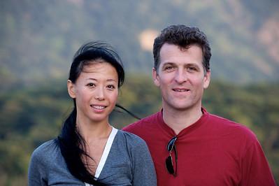 Patrick and Selina, Lantau island, Hong Kong.