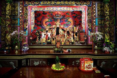 Temple, Jiufen, north east coast, Taiwan.