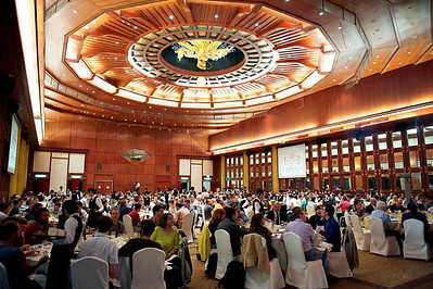 CHEP 2010 reception, Taipei.