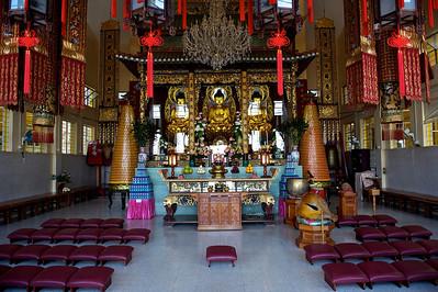 Temple, Lantau island, Hong Kong.