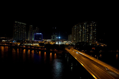 View on Po Lin subway station, Hong Kong.