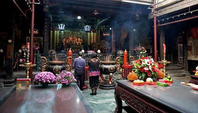 Temple, Danshui.