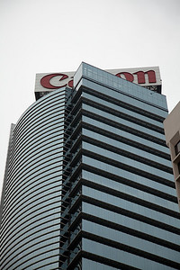 The Canon building, that Steve and Tom helped build.