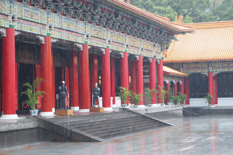 The Martyr's Temple in Taipei