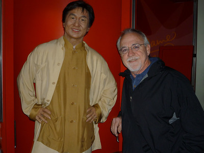 Tom finally gets to meet Jackie Chan
