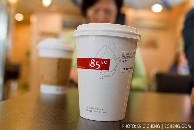 My introduction to 85C sea salt coffee