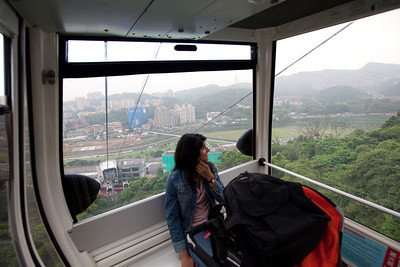 View from the Tram on MaoKong Gandola ride.