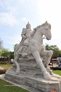 Statue of Koxinga, Tainan, Taiwan