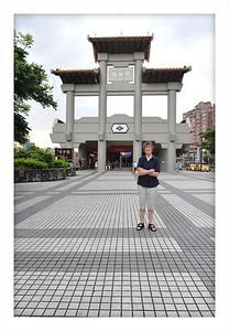 Taipei train station.