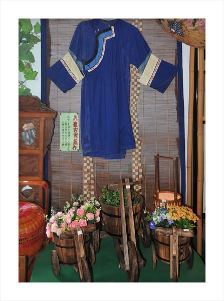 Display inside Hak Ka shop.