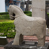 Three-legged horse guarding Zheng Chenggong's tomb