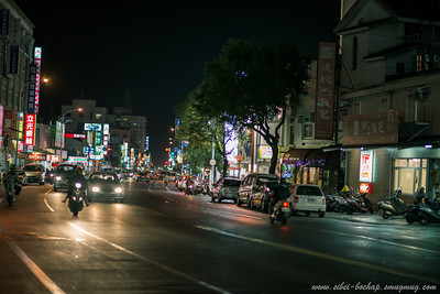 hua lien at night