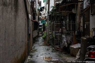 random alleyway