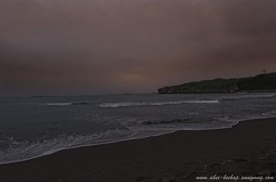 view from qi jing beach
