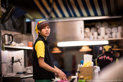 huaxi street - working at my fav food outlet in tw