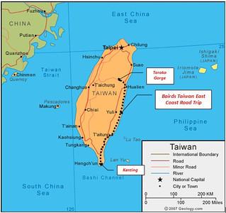 Taiwan Road Trip