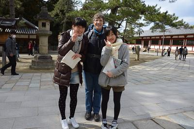 Middle School Students, Nara Park, Japan