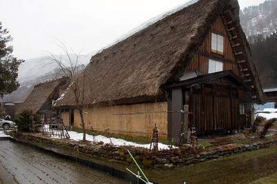 Minka Houses in Shirakawa-go, Japan