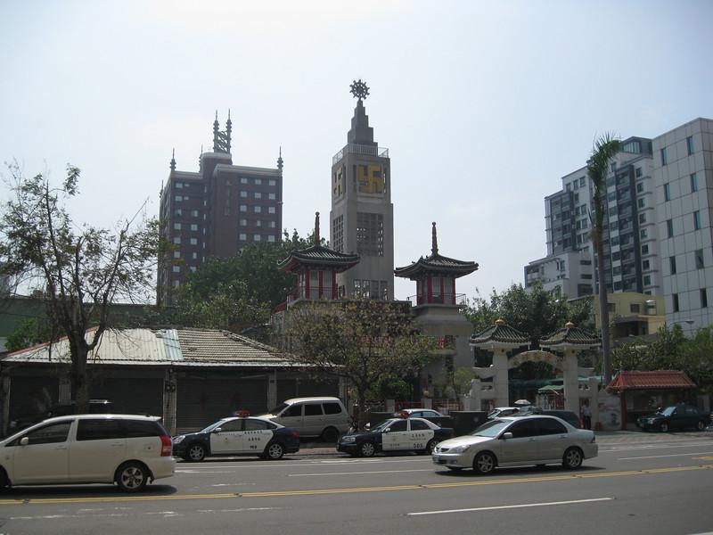 Buddhist temple near the hotel