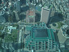 Looking down from Taipei 101, this is the World Trade Center