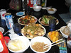 Cash Box Karaoke (KTV).  My friends Vickey and Shalin went a bit overboard with the food...