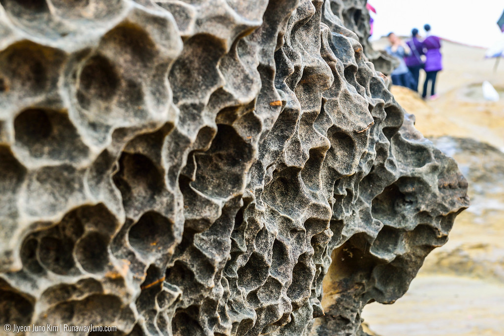 Details at the Yehliu Geopark