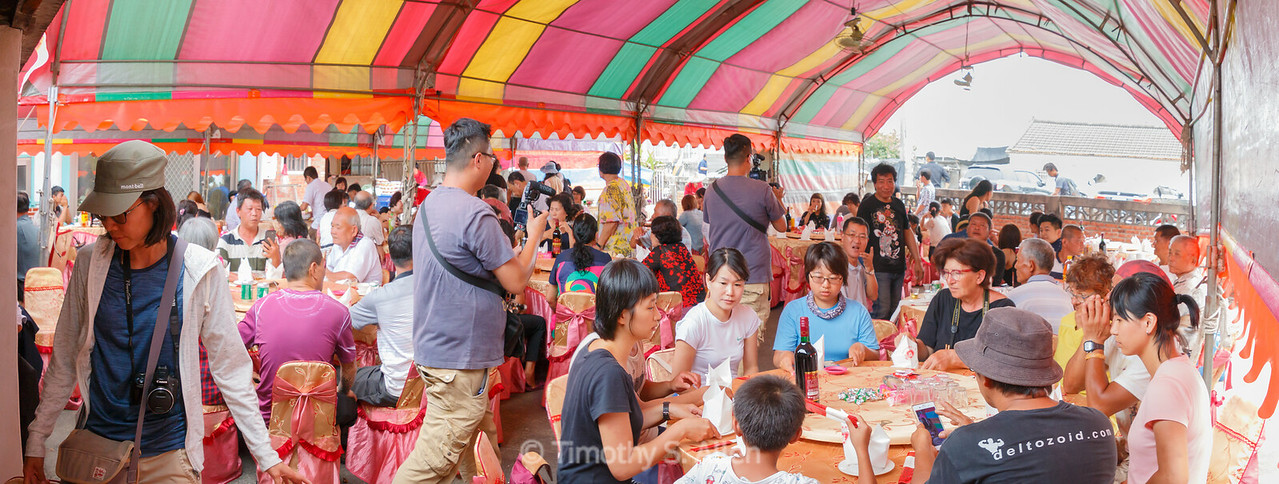 Traditional Taiwanese Wedding Banquet