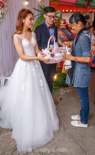 Traditional Wedding Bride and Groom