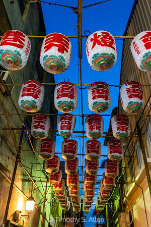Lanterns in an Alley