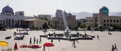 Khojand: Main Square