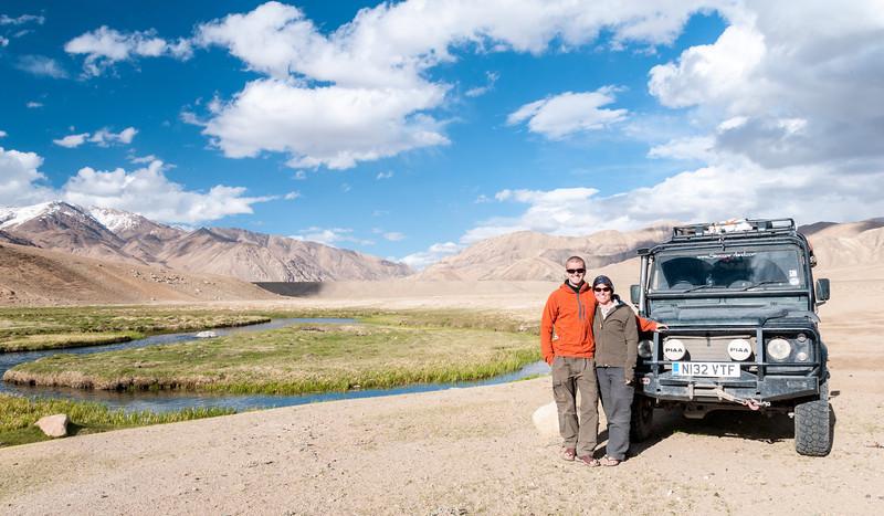 Griff & Lisa. Bulunkul (lake). Tajikistan