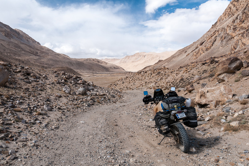 Khargush Pass. Langar - M41 Pamir Highway. Tajikistan