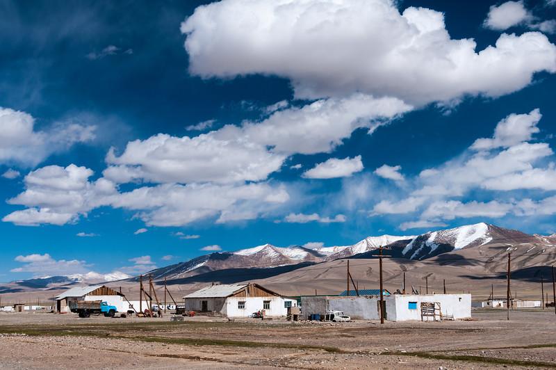 Alichur. M41 Pamir Highway. Tajikistan