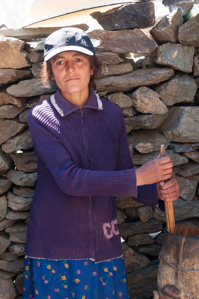 Shepherds daughter. Bartang Valley. Tajikistan