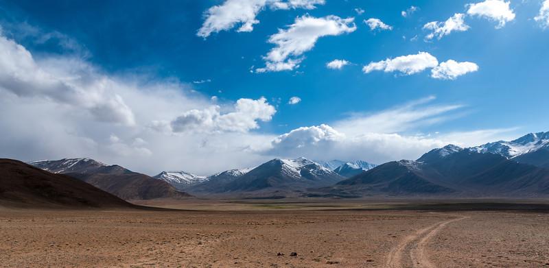 Nr Bulunkul (Lake) .M41 Pamir Highway. Tajikistan