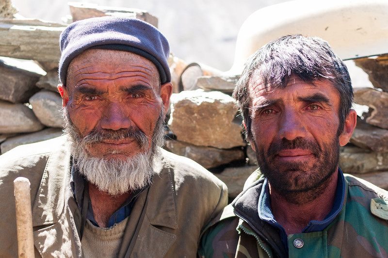Shepherds. Bartang Valley. Tajikistan