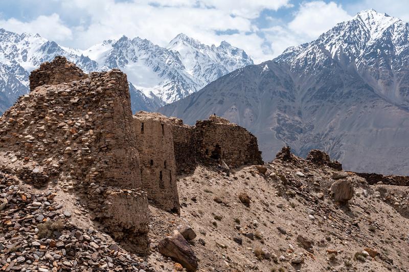 Yamchun Fort. Wakhan Valley, Tajikistan