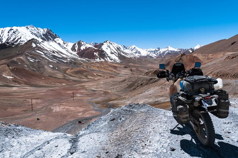 Akbaital Pass. M41 Pamir Highway. Tajikistan