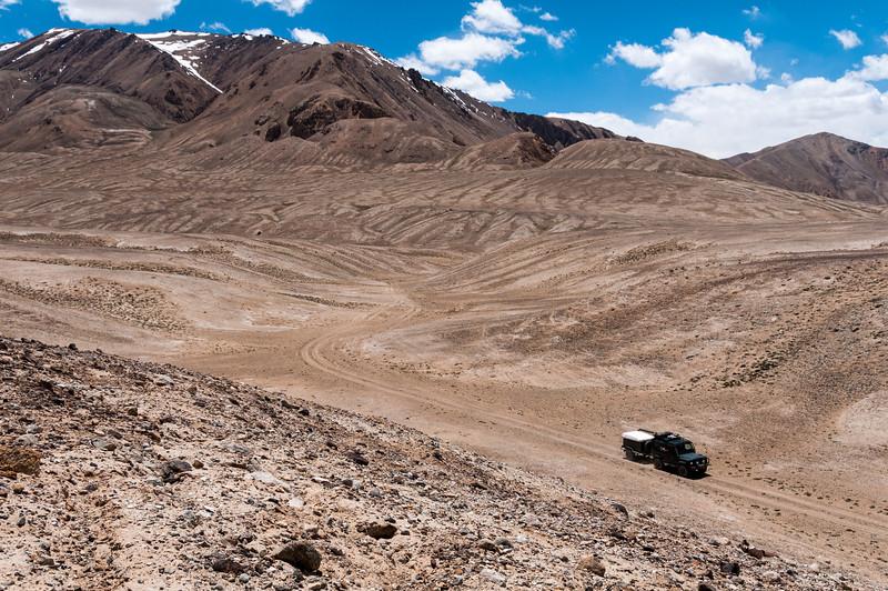 Griff & Lisa. Bulunkul - Alichur via Ak Jar. Tajikistan